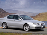 Alfa Romeo 166 Ti UK-spec (936) 2004–2005 images