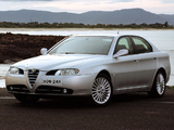 Pictures of Alfa Romeo 166 AU-spec 936 (2003–2005)
