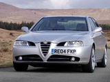 Pictures of Alfa Romeo 166 Ti UK-spec (936) 2004–2005