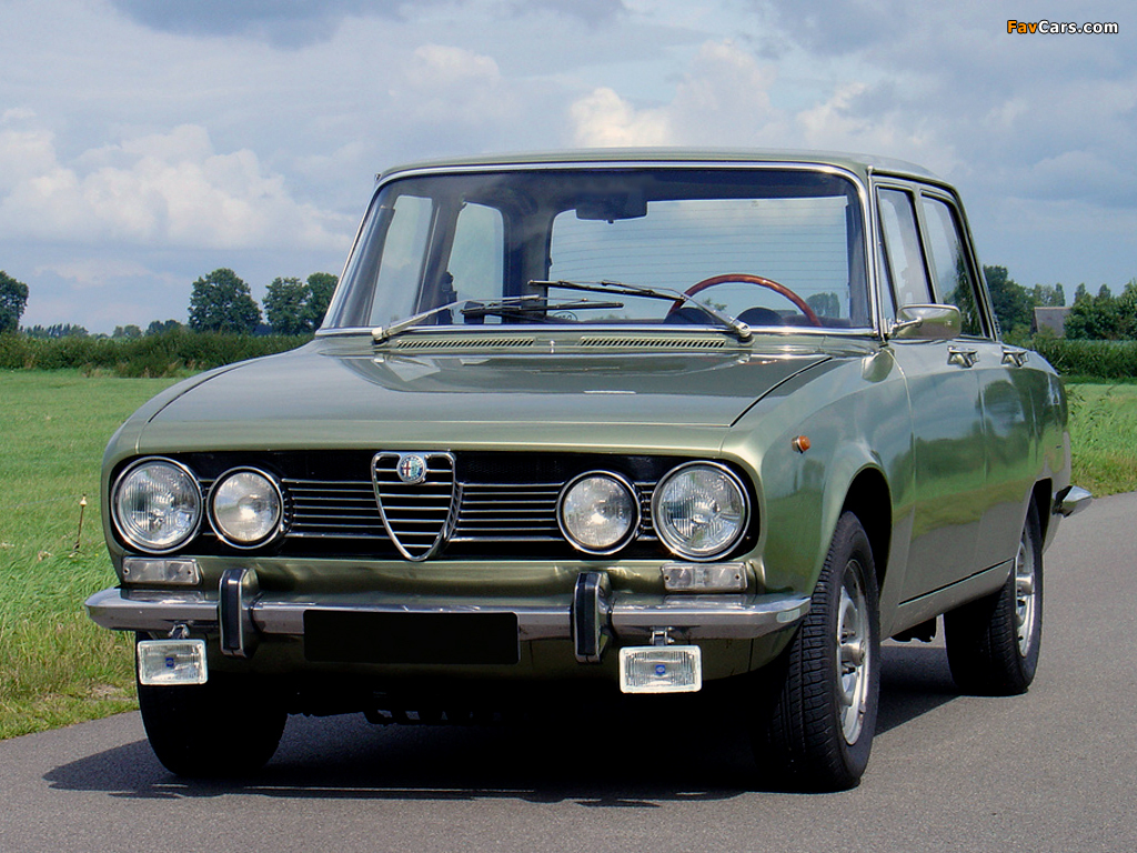 1969 Alfa Romeo 1750 Berlina related infomation,specifications - WeiLi Automotive Network