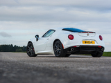 Alfa Romeo 4C UK-spec (960) 2014 images