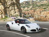 Alfa Romeo 4C Spider (960) 2015 wallpapers