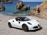 Photos of Alfa Romeo 4C Spider (960) 2015