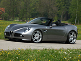 Novitec Alfa Romeo 8C Spider (2011) wallpapers