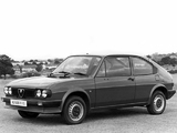 Alfa Romeo Alfasud Ti UK-spec 901 (1980–1983) images
