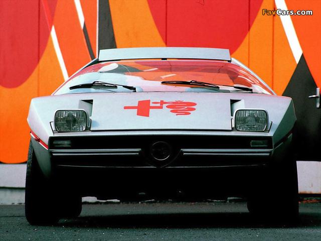 Pictures of Alfa Romeo Alfasud Caimano Concept 901 (1971) (640 x 480)