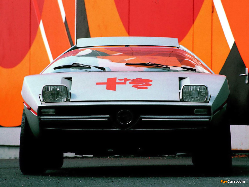 Alfa Romeo Alfasud Caimano Concept 901 (1971) wallpapers (1024 x 768)