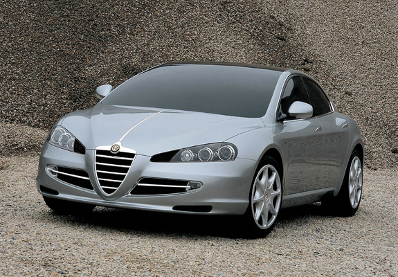 Download / Preview - Images of Alfa Romeo Visconti Concept (2004)