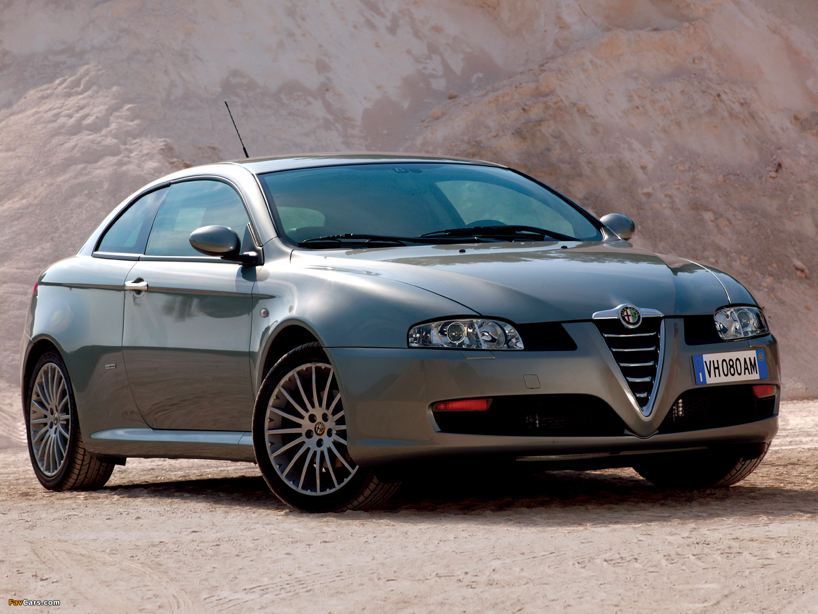 wallpapers of alfa romeo gt 937 2003 2010 1600x1200. Black Bedroom Furniture Sets. Home Design Ideas