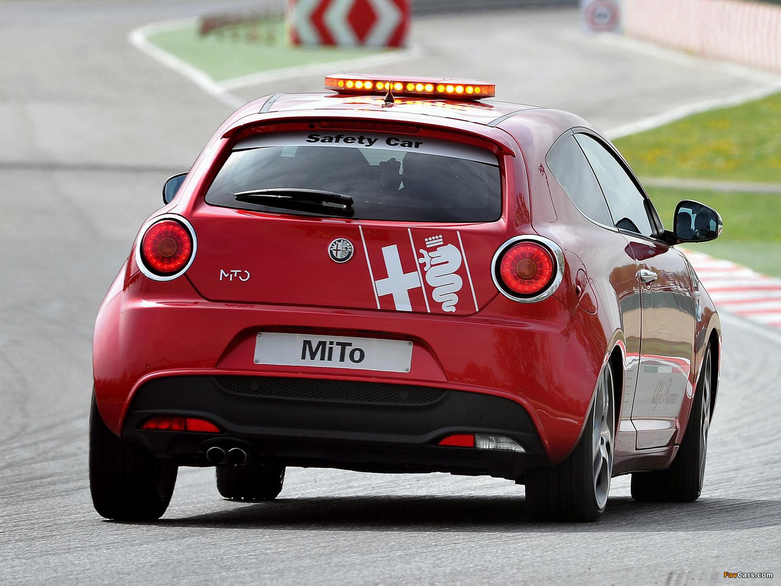 Alfa Romeo Mito >> Alfa Romeo MiTo Quadrifoglio Verde SBK Safety Car 955 (2011) photos (1600x1200)