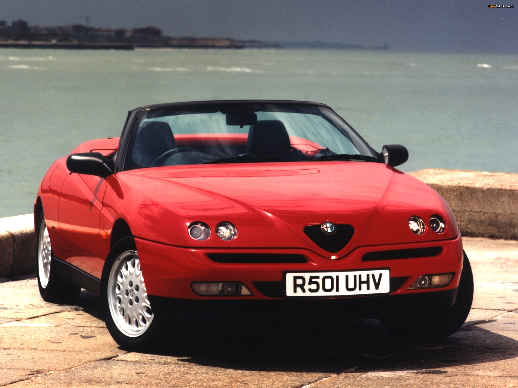 alfa romeo spider uk spec 916 1995 1998 wallpapers. Black Bedroom Furniture Sets. Home Design Ideas