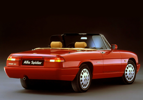 photos alfa romeo spider 1990 1. Black Bedroom Furniture Sets. Home Design Ideas
