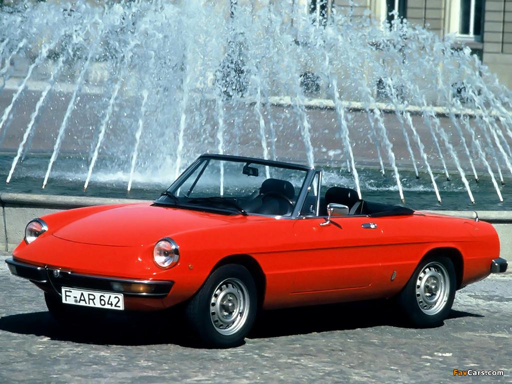 Pictures of Alfa Romeo Spider Junior 105 (1972–1977 ...