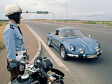 Photos of Renault Alpine A110 Gendarmerie
