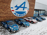Wallpapers of Renault Alpine A110 Rally Car
