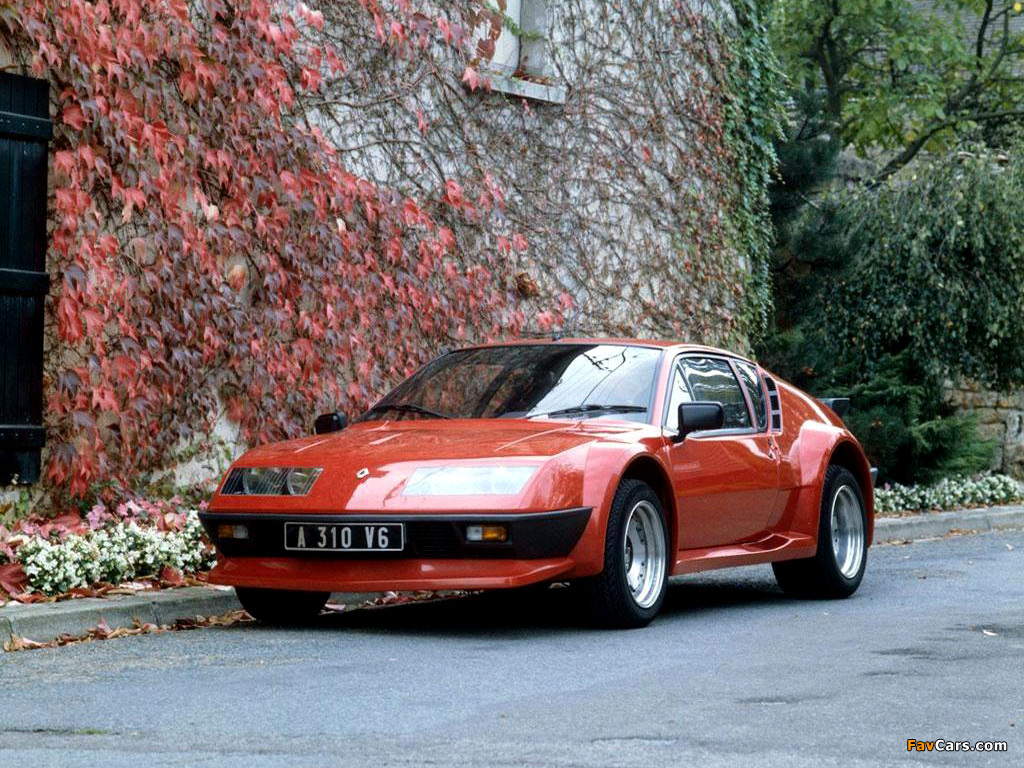 photos of renault alpine a310 v6 groupe 4 1982 1985. Black Bedroom Furniture Sets. Home Design Ideas