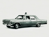 Photos of AMC Ambassador 880 4-door Sedan Police Car 1966
