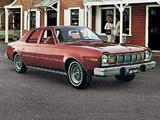 Pictures of AMC Hornet D/L Sedan 1975–77