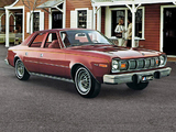 Pictures of AMC Hornet D/L Sedan 1975–77