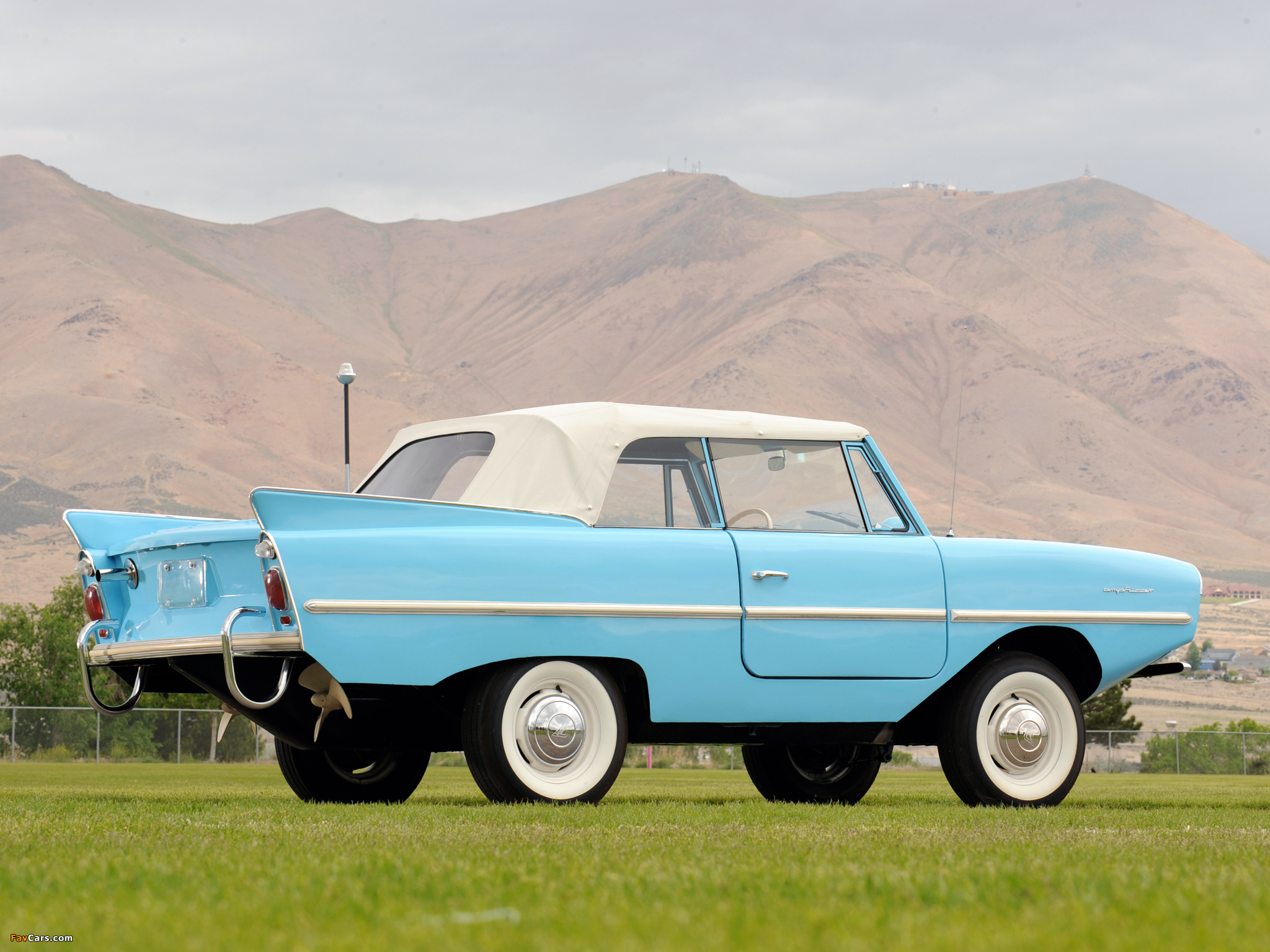 Amphicar 770 Convertible 1961 1968 Wallpapers 2048x1536