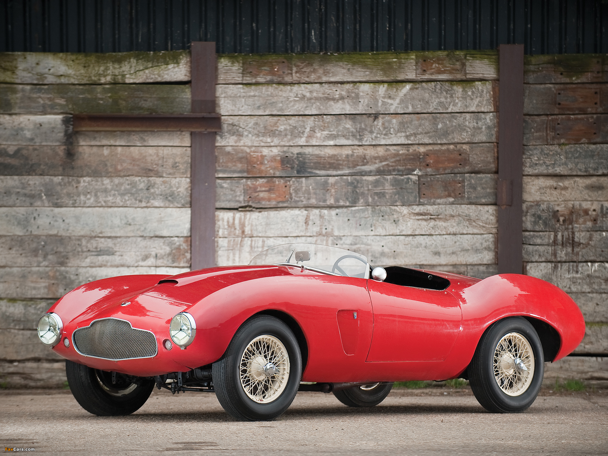 Wallpapers Of Aston Martin DB2/4 Bertone Spider (1953