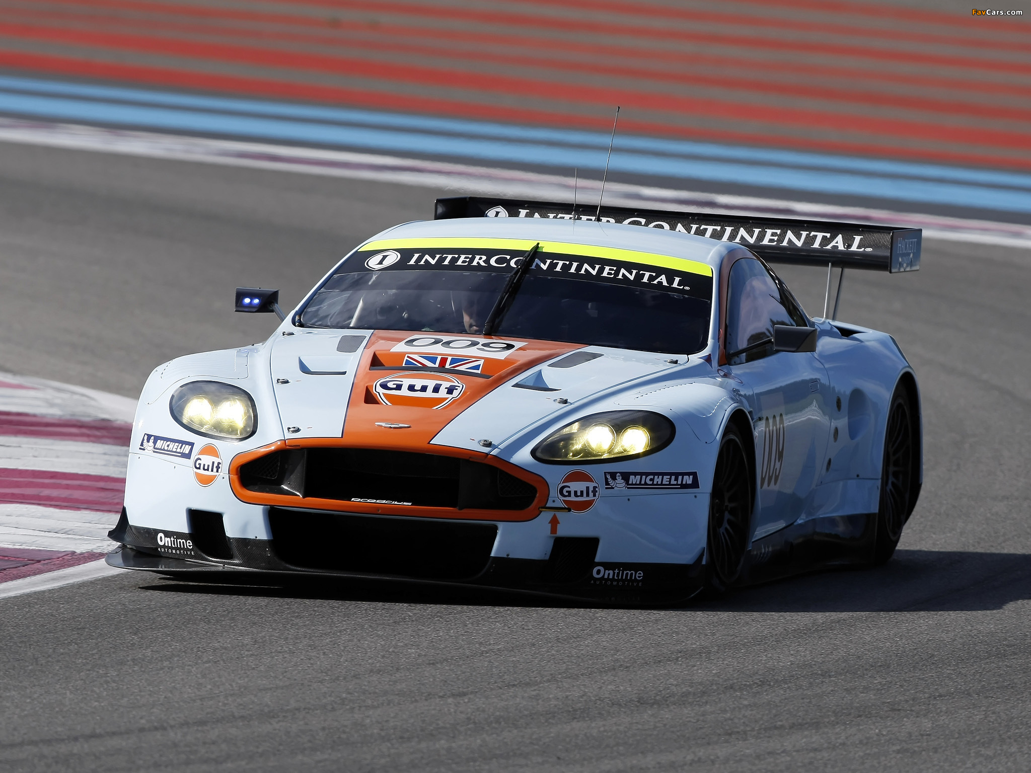 Images Of Aston Martin Dbr9 Gulf Oil Livery 2008 2048x1536