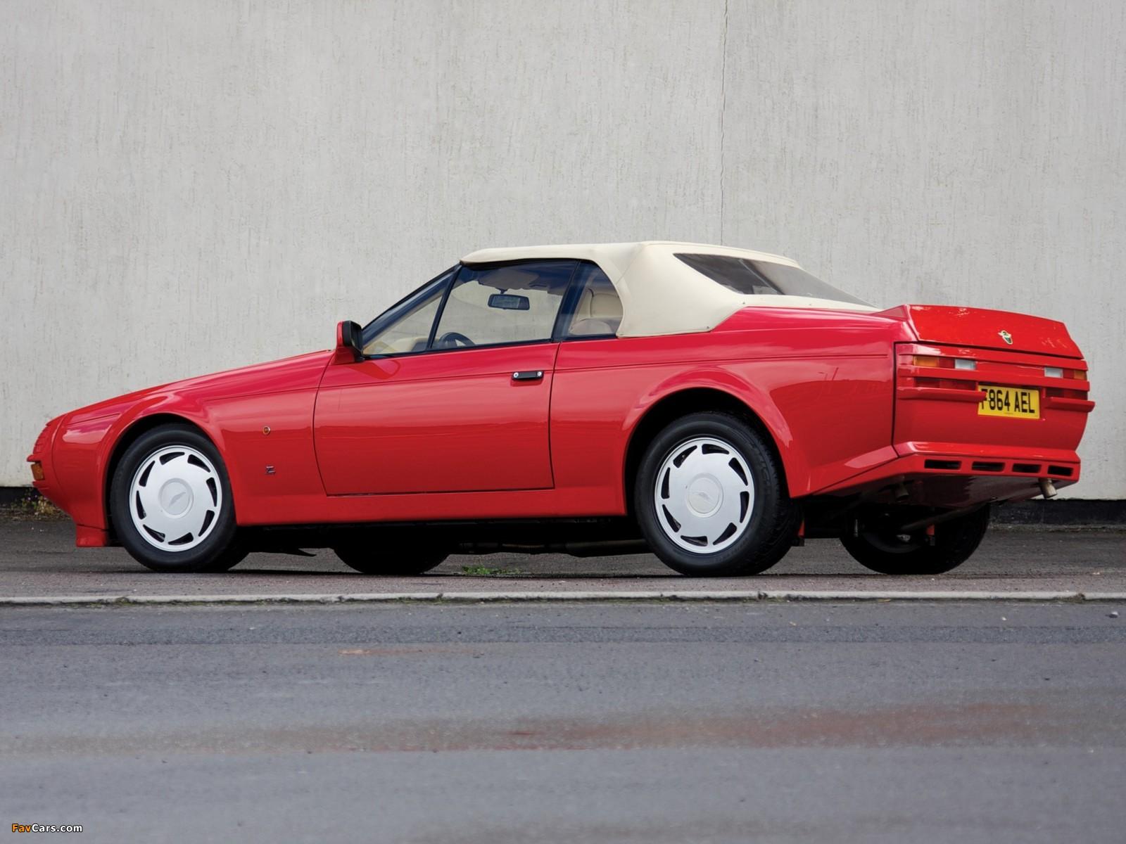 Aston Martin V8 Volante Zagato (1988–1990) photos (1600 x 1200)
