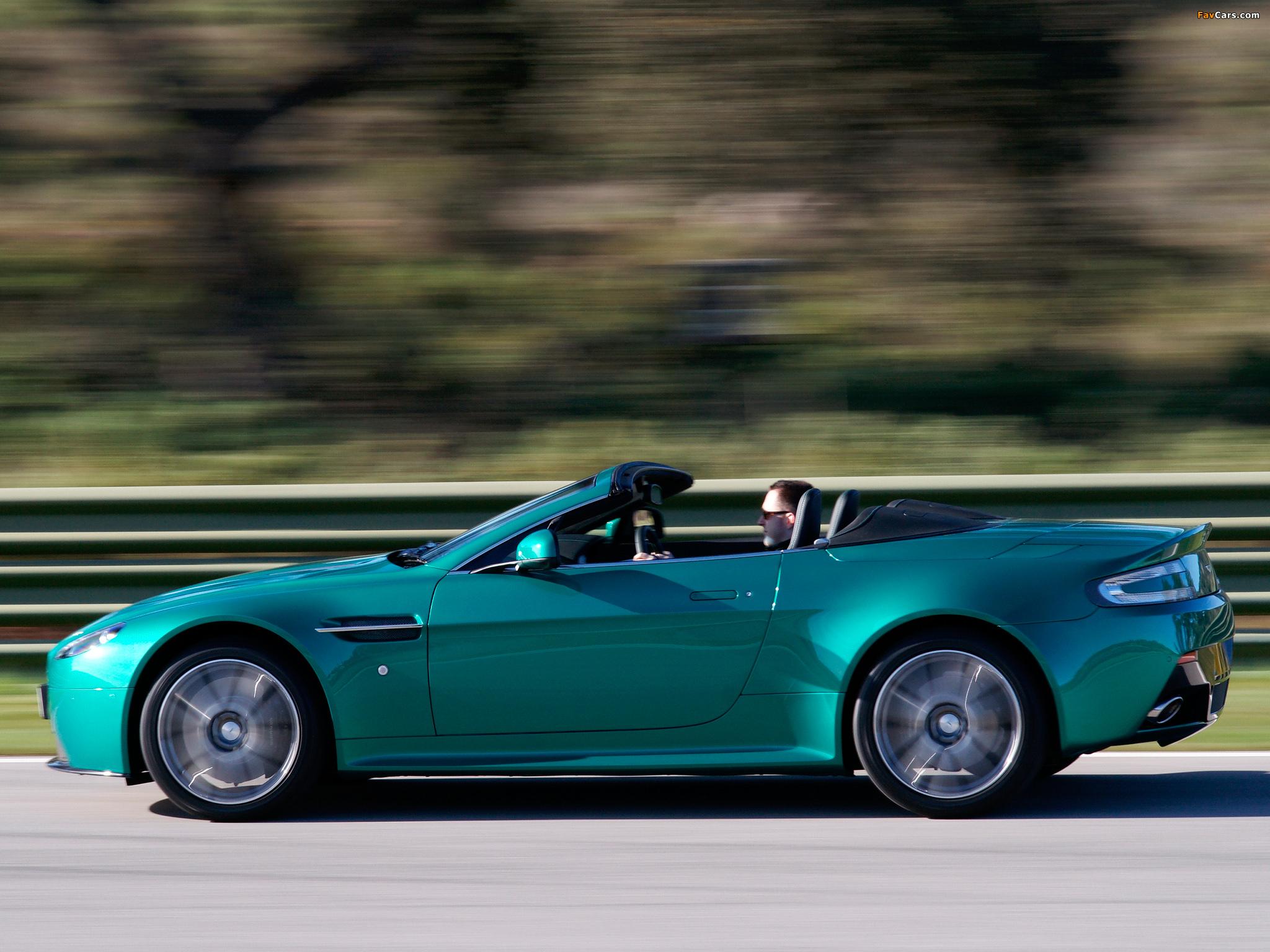 Aston Martin V8 Vantage S Roadster UK-spec (2011) pictures (2048 x ...