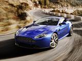 синий автомобиль Aston Martin  № 2593811 бесплатно