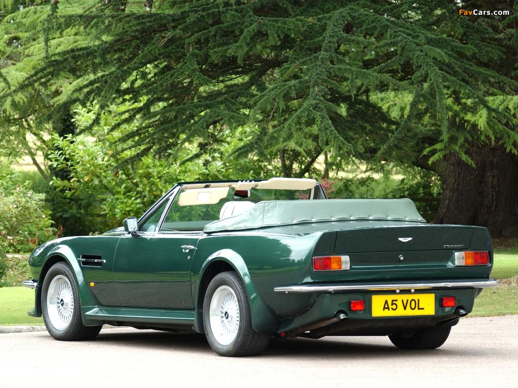 Aston Martin V8 Vantage Volante Uk Spec 1984 1989 Images