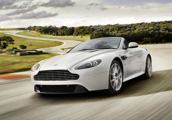 ... / Preview - Aston Martin V8 Vantage S Roadster UK-spec (2011) images