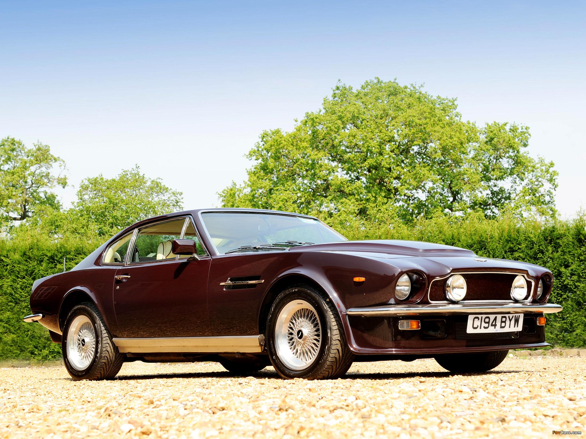 Aston Martin Advertising >> Photos of Aston Martin V8 Vantage UK-spec (1977–1989) (2048x1536)