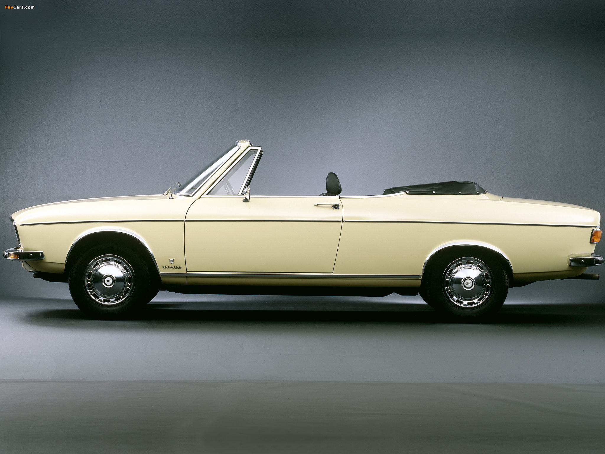 Audi 100 LS Cabriolet Prototype C1 (1969) photos (2048 x 1536)