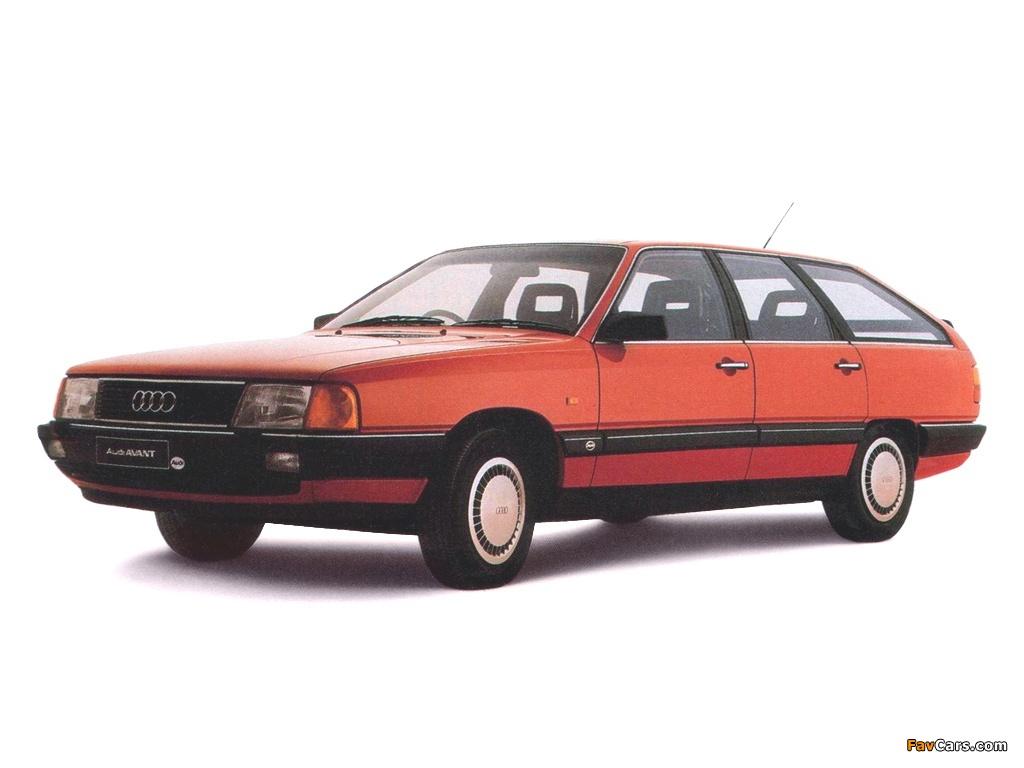 Audi 100 Avant C3 1982 1987 Images 1024x768