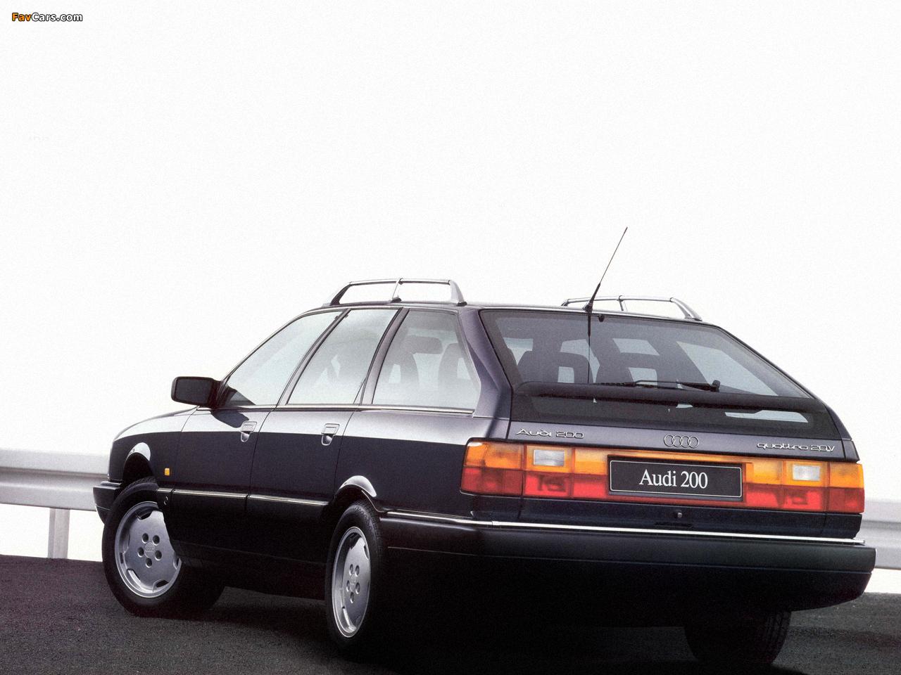 Audi 200 Avant Quattro 44 44q 1988 1991 Photos 1280x960