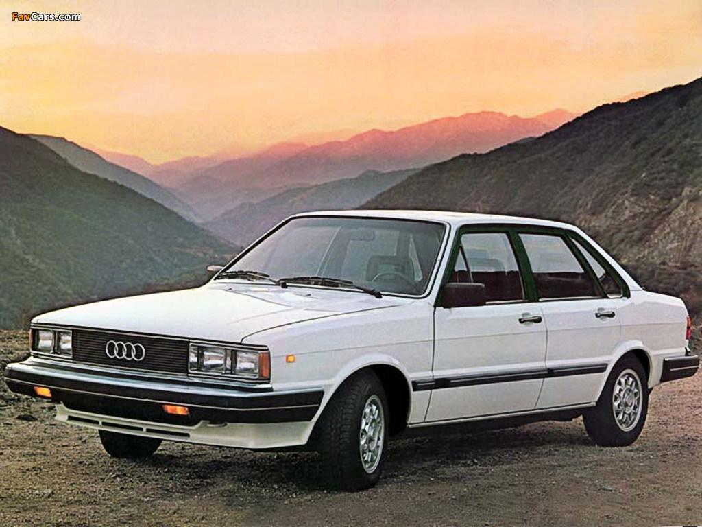 Audi 4000 1980 1984 Pictures 1024x768