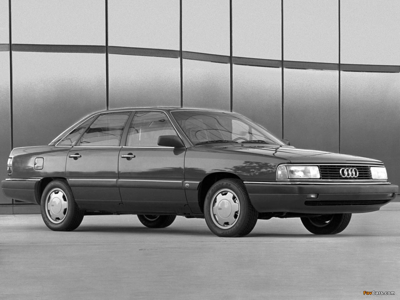 Audi 5000cs 44 44q 1986 1988 Wallpapers 1280x960