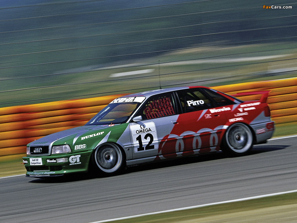 Audi 80 Quattro Competition Race Car 8c B4 Wallpapers