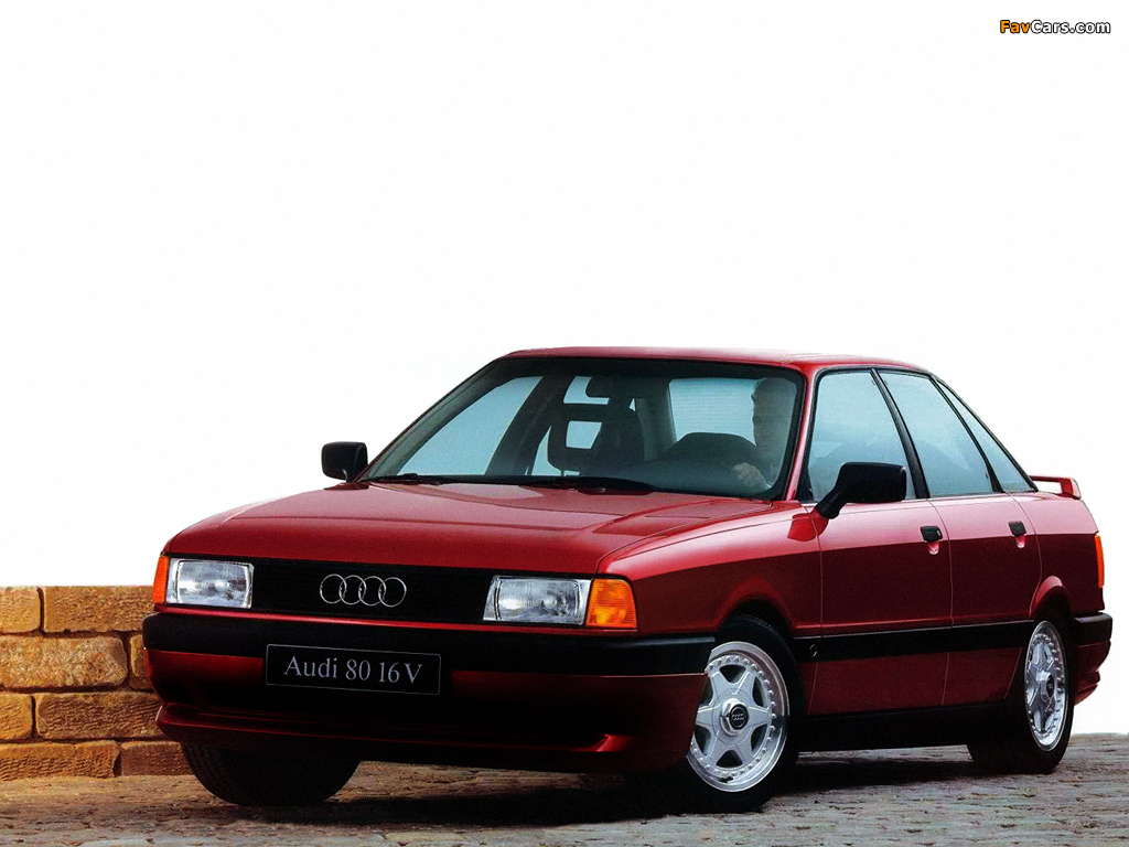 Images of Audi 80 16V 8A,B3 (1990–1991) (1024 x 768)