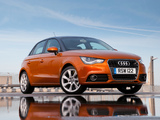 Audi A1 Sportback TDI UK-spec 8X (2012) photos