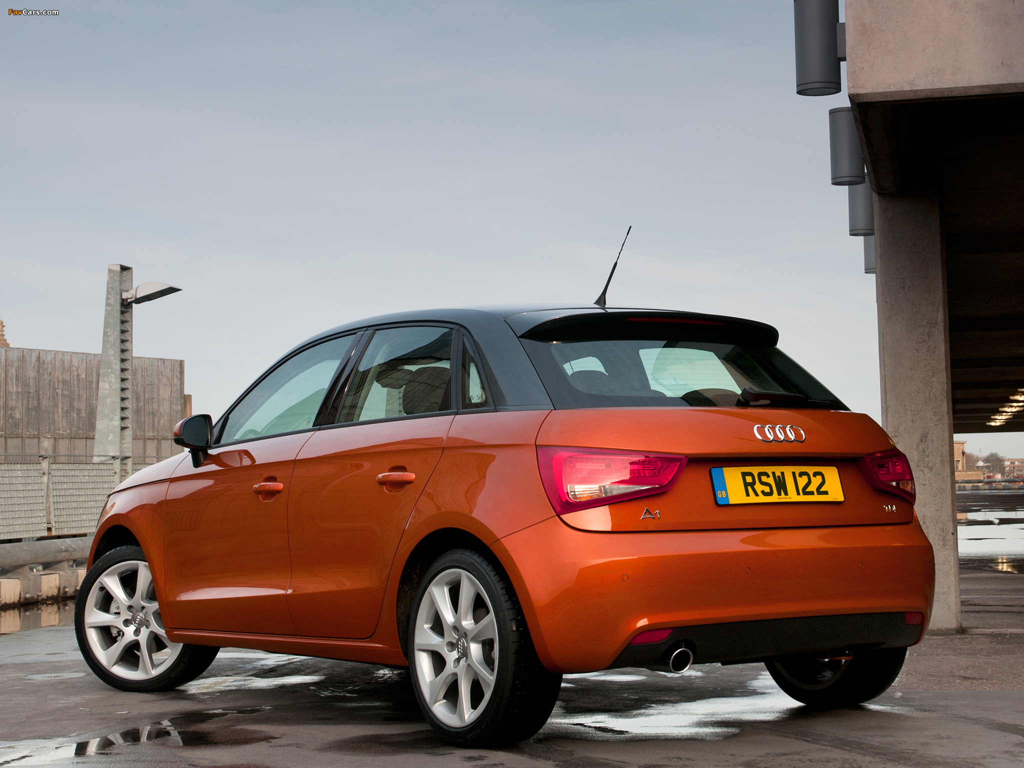audi a1 sportback tdi uk spec 8x 2012 pictures 2048x1536. Black Bedroom Furniture Sets. Home Design Ideas