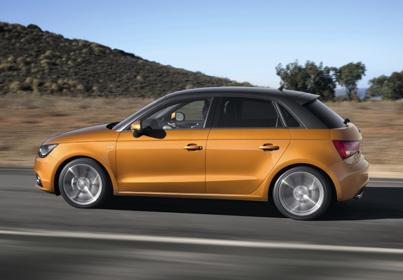Audi A1 Sportback TFSI S-Line 8X (2012) pictures (1600x1200)