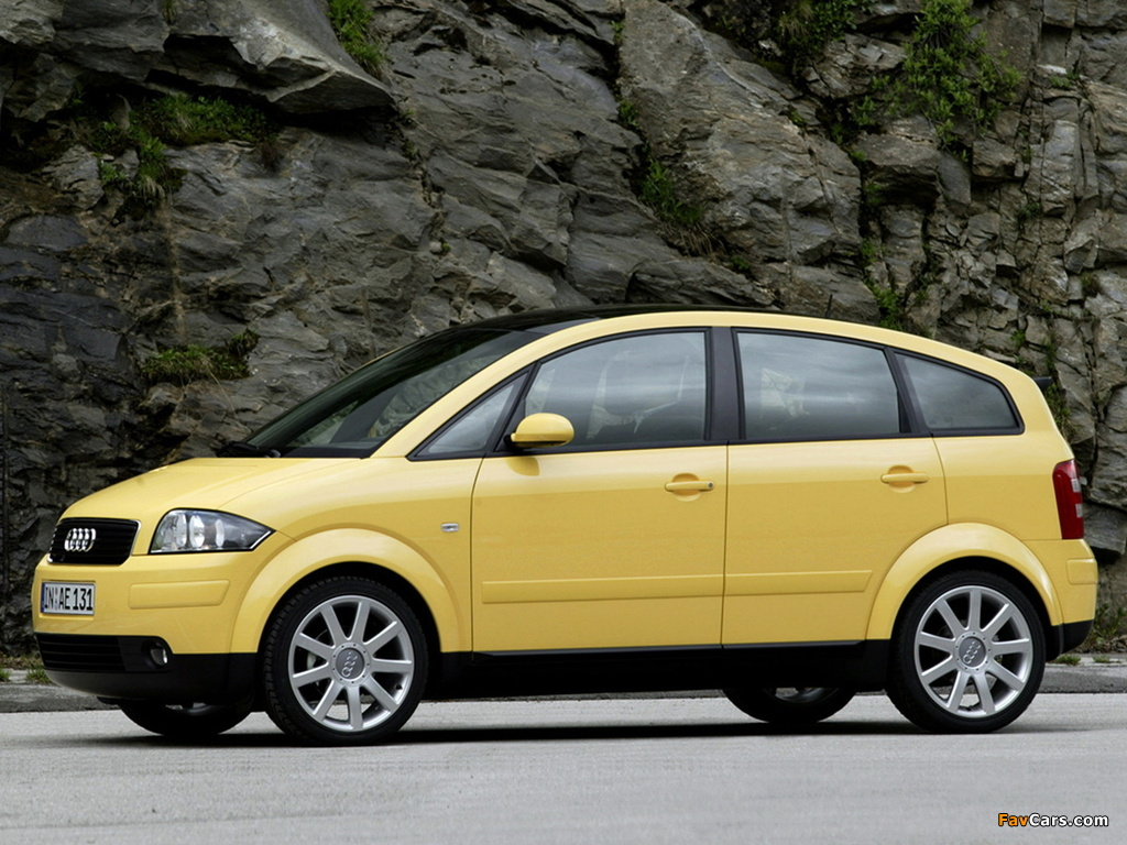 Wallpapers Of Audi A2 1 6 Fsi 2004 2005 1024x768