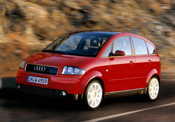 Wallpapers Of Audi A2 1 6 Fsi 2004 2005 1600x1200