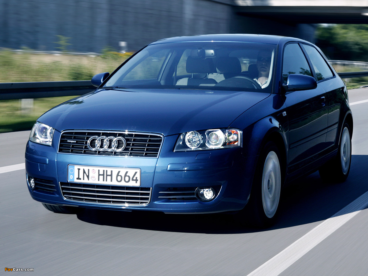 Audi A3 3.2 Quattro 8P (2003–2005) Photos (1280x960