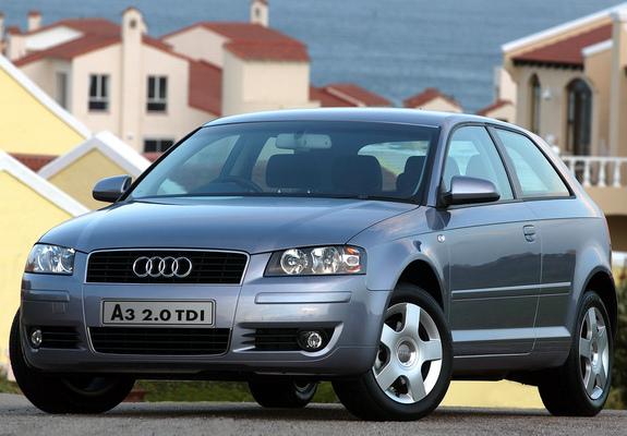 Audi A3 2 0 Tdi Za Spec 8p 2003 2005 Pictures 1600x1200