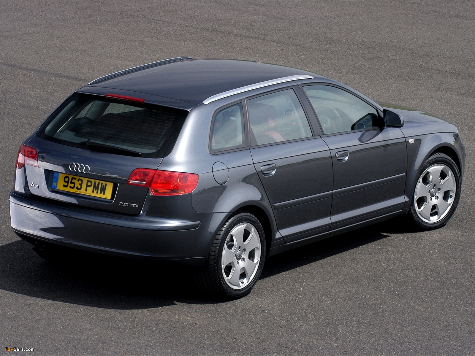 Audi A3 Sportback 2 0 Tdi Uk Spec 8pa 2005 2008 Pictures