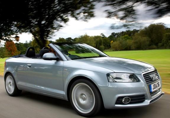 ... - Audi A3 1.6 TDI S-Line Cabriolet UK-spec 8PA (2008–2010) images