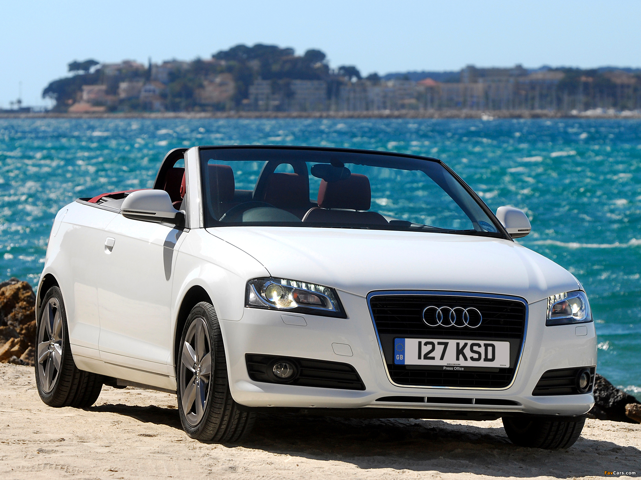 audi a3 2 0t cabriolet uk spec 8pa 2008 images 2048x1536. Black Bedroom Furniture Sets. Home Design Ideas