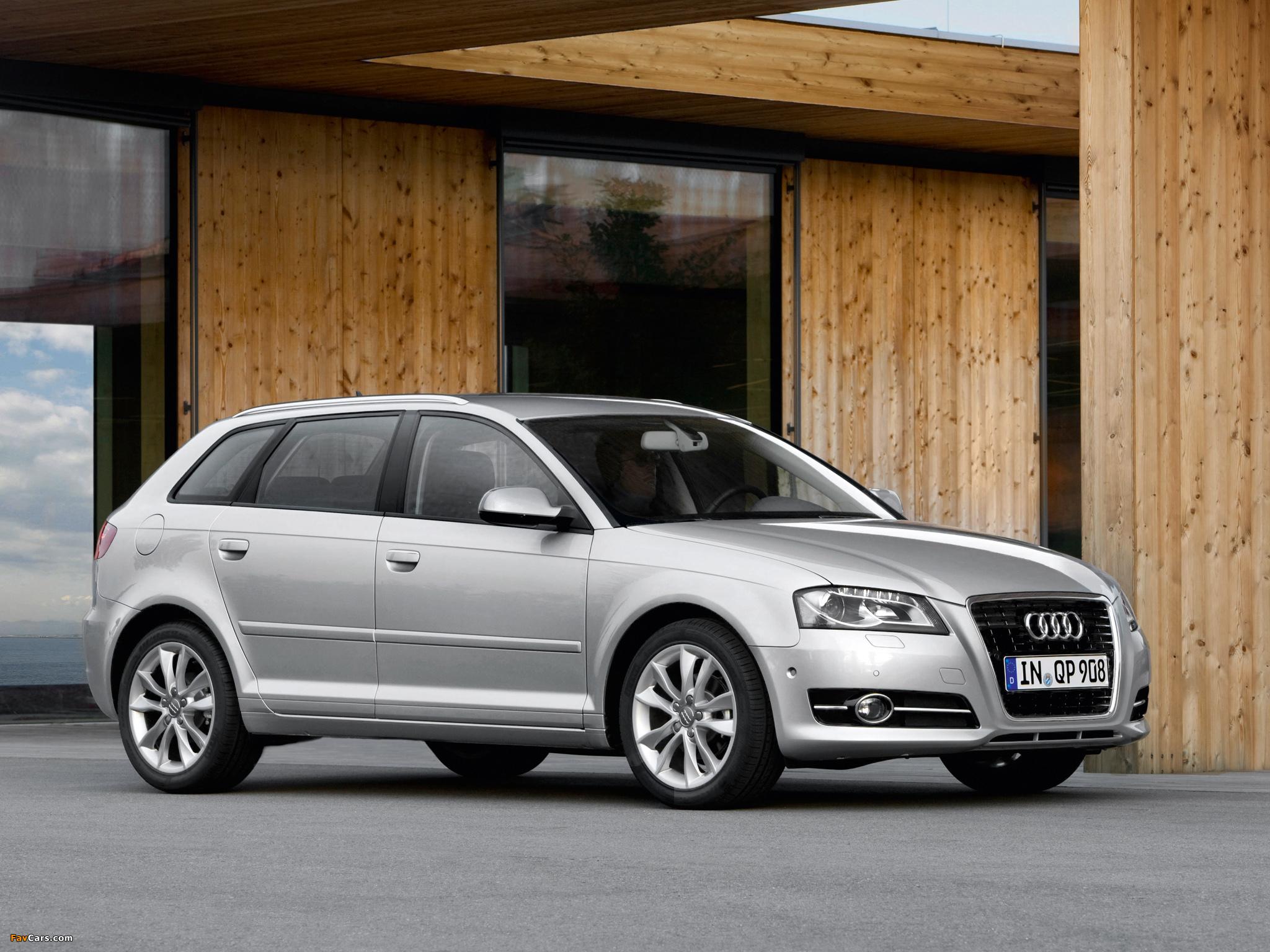 Audi A 3 2010 >> Audi A3 Sportback TFSI 8PA (2010) images (2048x1536)